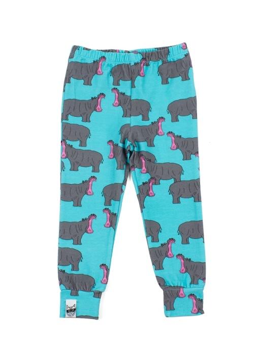My Little Bandit Hippo Leggings