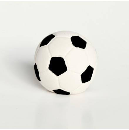 Lanco fotboll i naturgummi, 7 cm