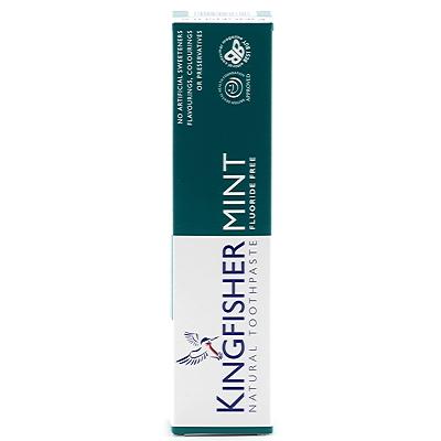 Kingfisher naturlig tandkräm mint, utan fluor