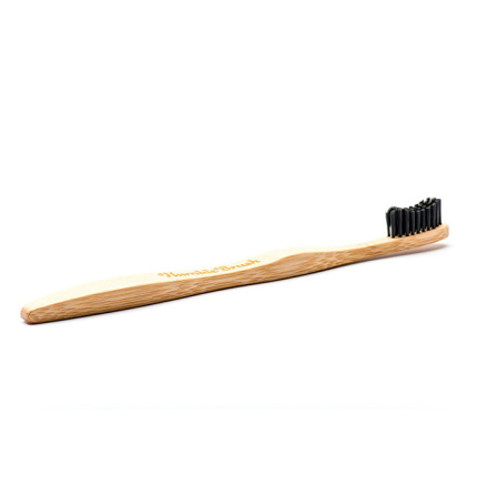 Humble Brush bambutandborste för vuxna, svart
