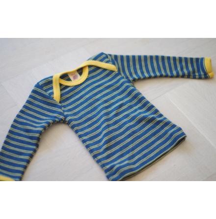 Engel tröja i ull, gul/blå