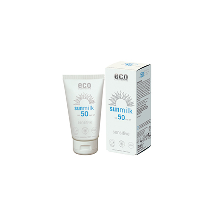 Eco Cosmetics Sun Milk SPF 50+ Sensitive 75 ml