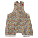 Pigeon baby dungarees ditsy