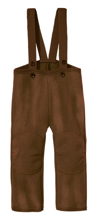 Disana boiled wool trousers hazelnut