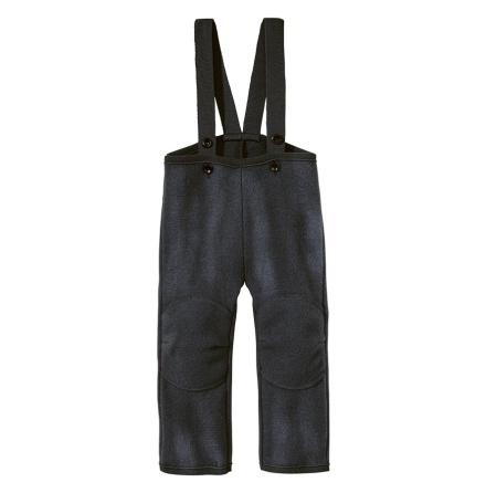 Disana byxor i ekologisk filtad/kokt ull, mörkgrå