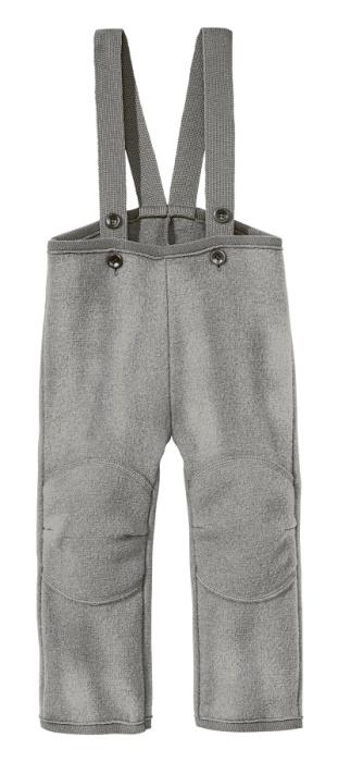 Disana byxor i ekologisk filtad/kokt ull, grå