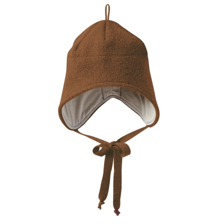 Disana boiled wool hat hazelnut