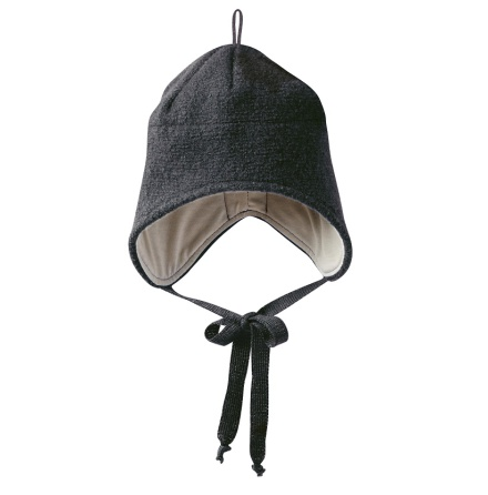 Disana boiled wool hat anthracite