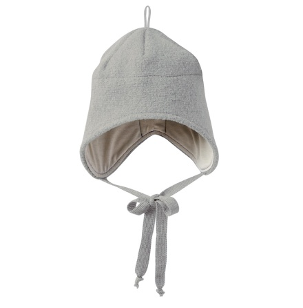 Disana boiled wool hat grey