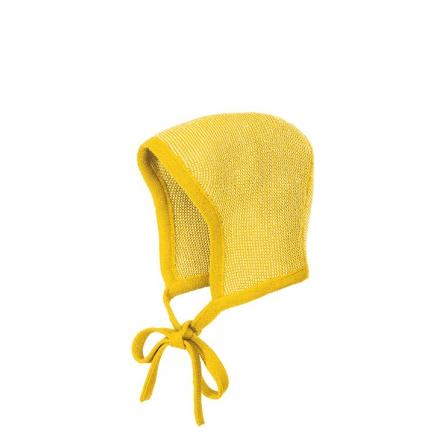 Disana bonnet, curry-natural melange