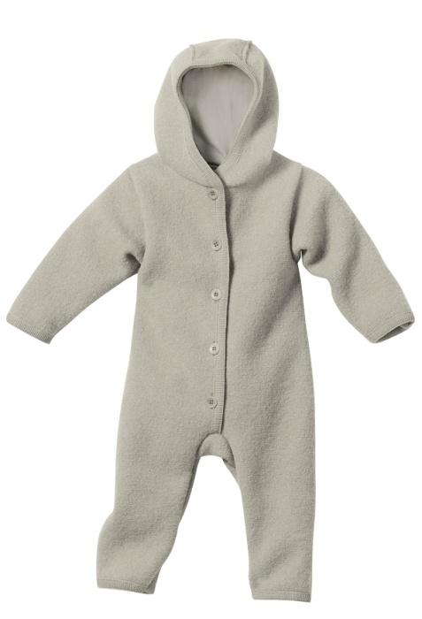 Disana overall i ekologisk filtad/kokt ull, grå