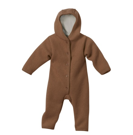 Disana boiled wool overall hazelnut