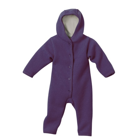 Disana boiled wool overall plum