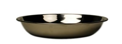Onyx djup tallrik i rostfritt stål, 14 cm