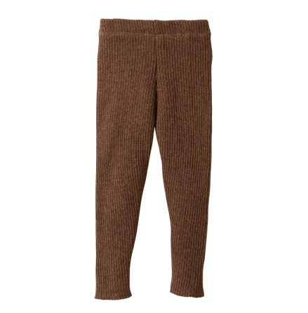 Disana knitted leggings, hazelnut