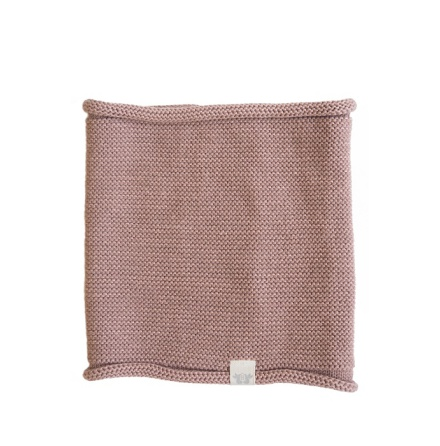 By Heritage Trevor Knitted Neck Tube Old Pink