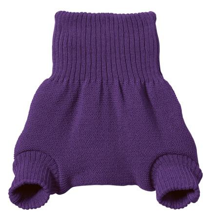 Disana woollen overpants plum