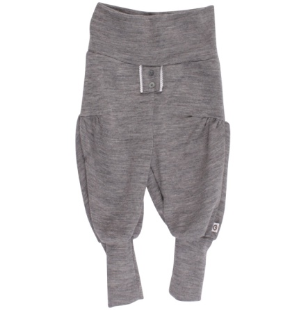 Müsli woolly pants grey m spetsdetalj