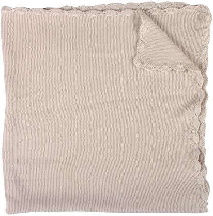 Müsli knit blanket ecru