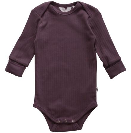 Müsli cozy longsleeve body violet