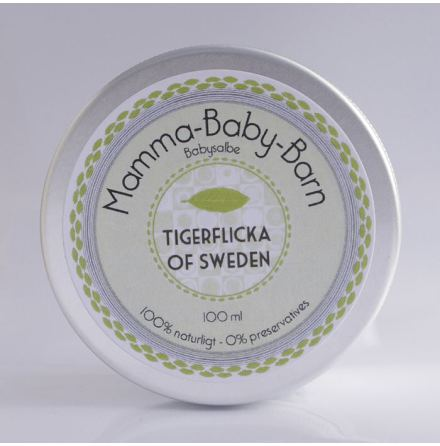 Tigerflicka of Sweden, Salva Mamma-Baby-Barn 100 ml