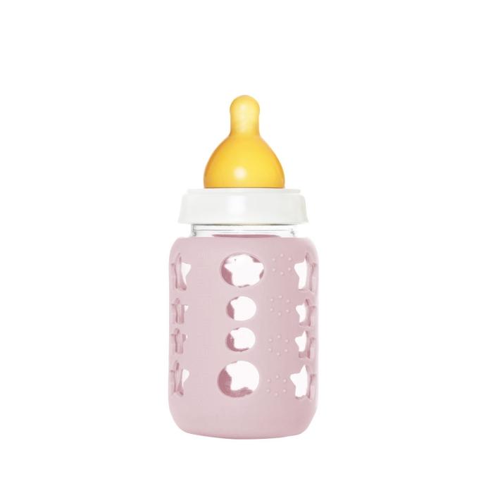 KeepJar nappflaska-kit, rosa