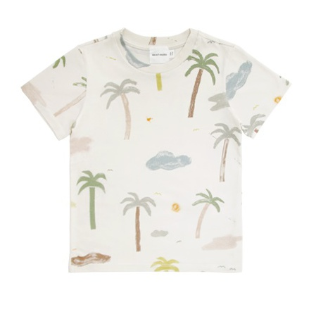 Walnut & Walrus Aston T-shirt, Palm