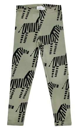 Walnut & Walrus Billie Leggings, Zebra