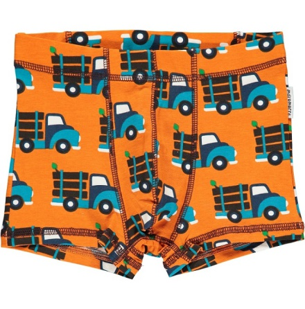 Maxomorra boxer shorts log truck