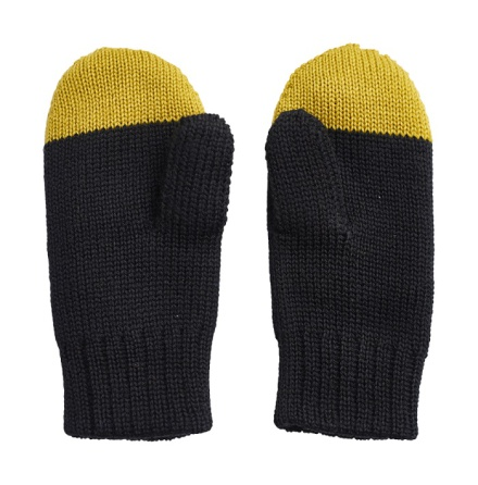 PAPU Kivi Mitten Golden green/Black