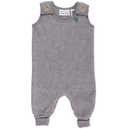 Fred's world wool fleece romper, grey