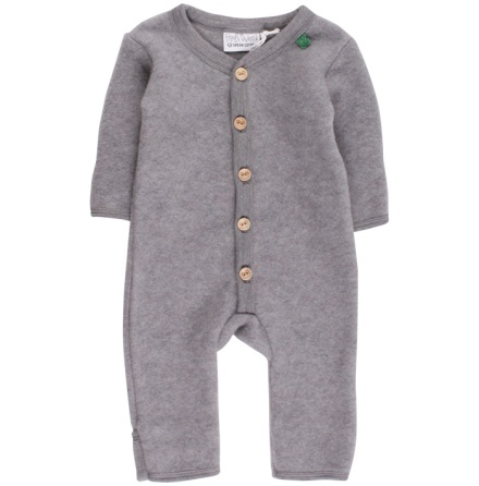 Fred's world wool fleece suit, grey