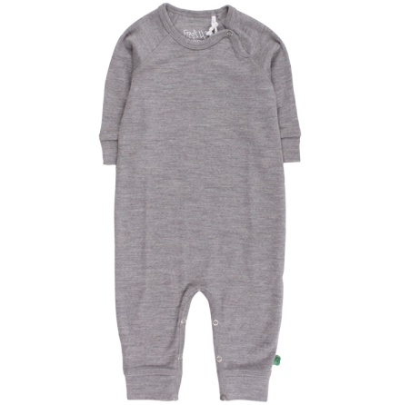 Fred's world wool bodysuit, grey