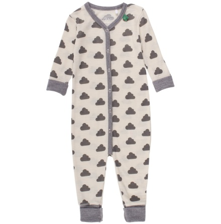 Fred's world wool sky bodysuit