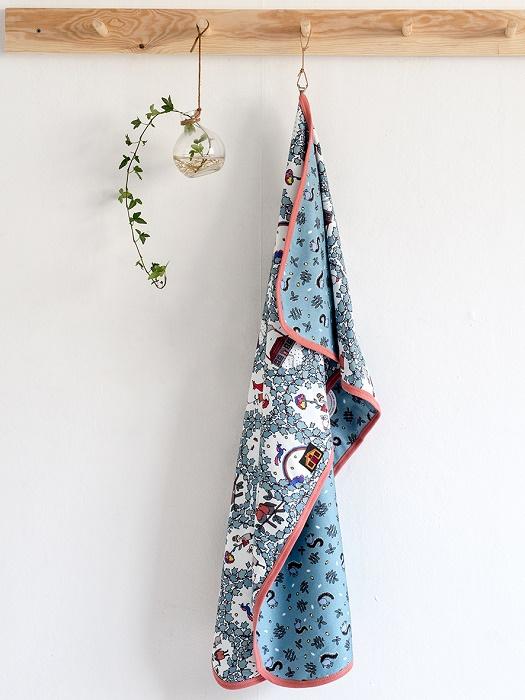 Modéerska Huset Baby Blanket Garden Dreams/Nuts