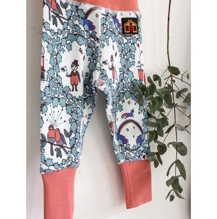 Modéerska Huset Baby Leggings Garden Dreams