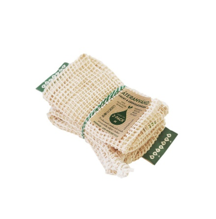 KeepJar nätpåse ekobomull stl M, 2-pack