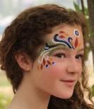 Natural Earth Paint, ekologisk ansiktsfärg vit