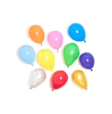 Ballonger i naturgummi, 10-pack