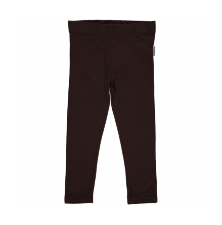Maxomorra leggings dark brown