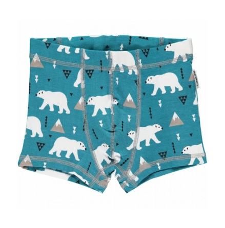 Maxomorra Boxer Shorts Polar Bear