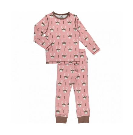 Maxomorra LS Pyjama Set Deer