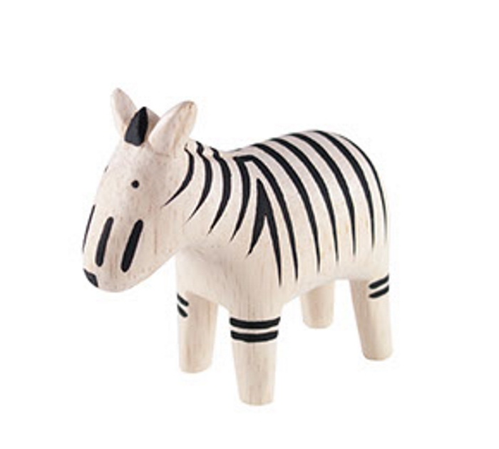 Polepole Trädjur Zebra