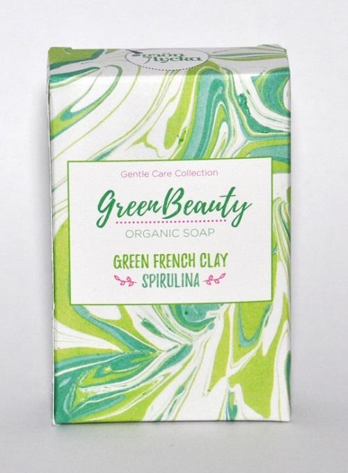 Grön Lycka Ekologisk Tvål - Green Beauty, 100 g
