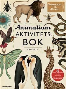 Animalium - Aktivitetsbok