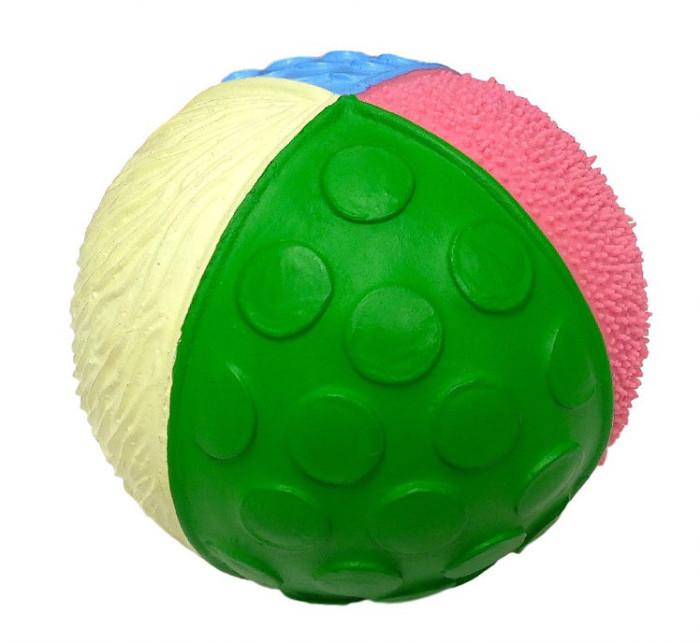 Lanco känselboll i naturgummi, pastellfärger