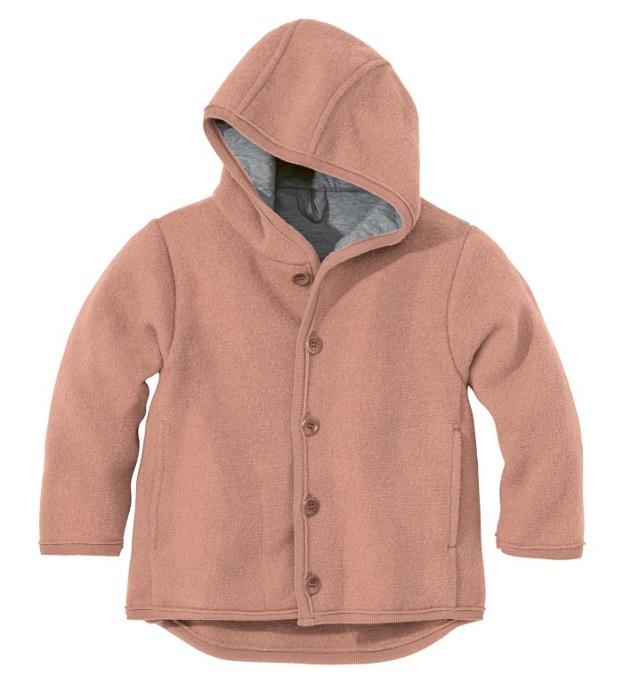 Disana boiled wool jacket rose