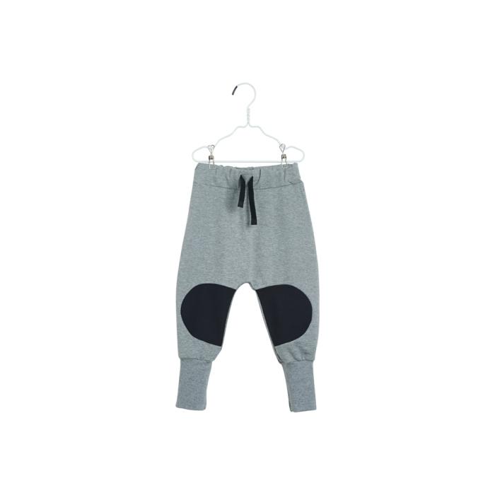 PAPU Loose Baggy Patch Sweatpants - grå