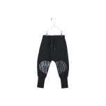 PAPU Loose Baggy Patch Sweatpants - svart
