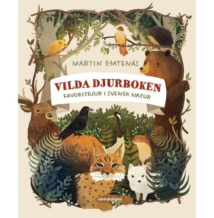 Vilda djurboken - favoritdjur i svensk natur